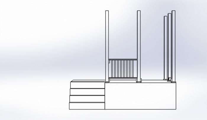 Porch Railings View 1