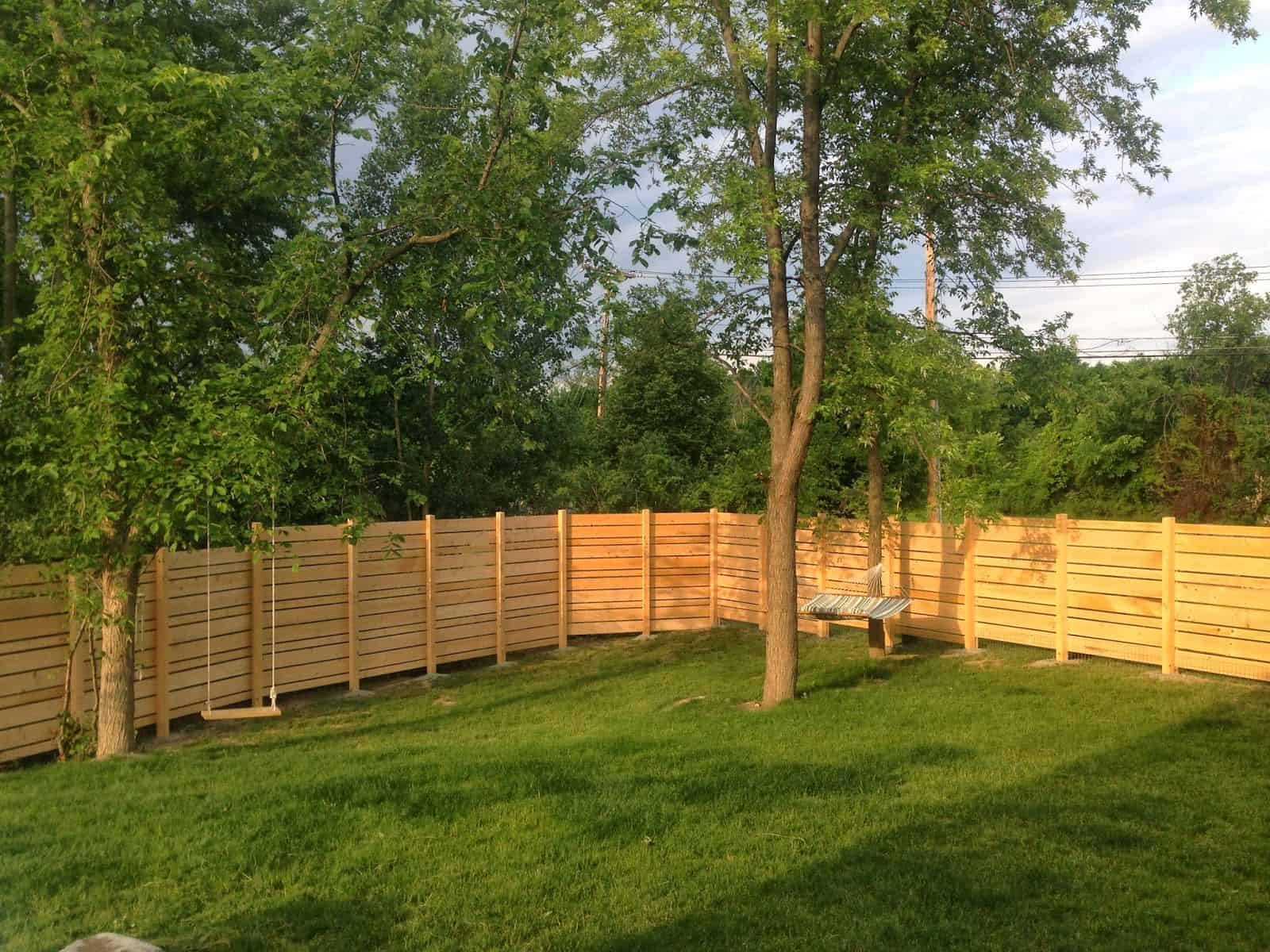 How Much Does It Cost To Fence A Yard The Housing Forum