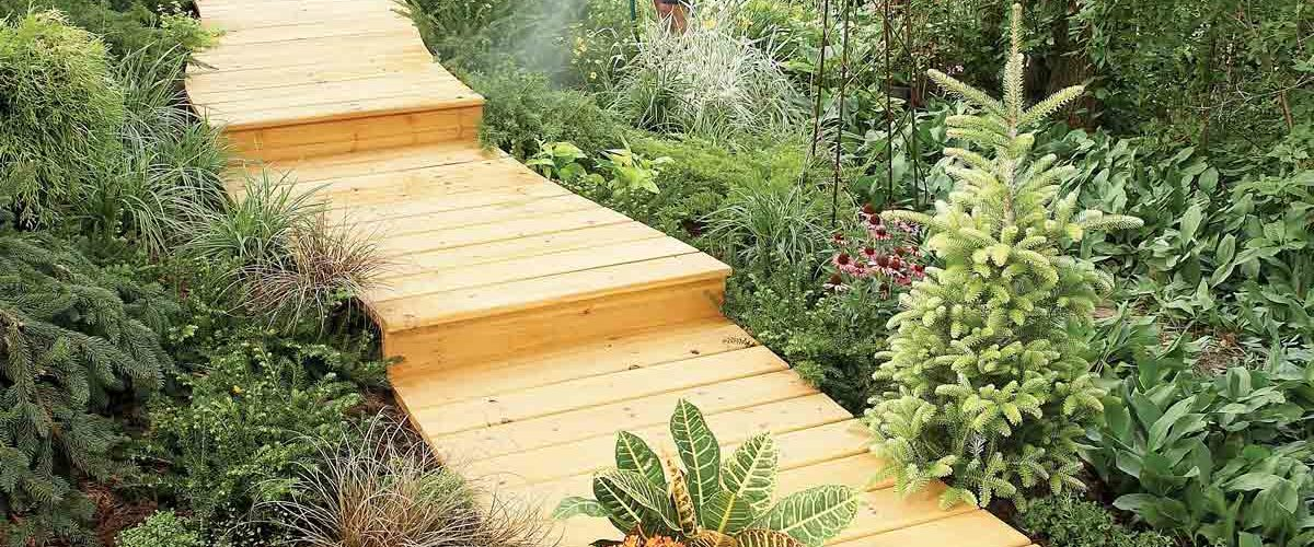 How To Build A Wooden Walkway The Housing Forum