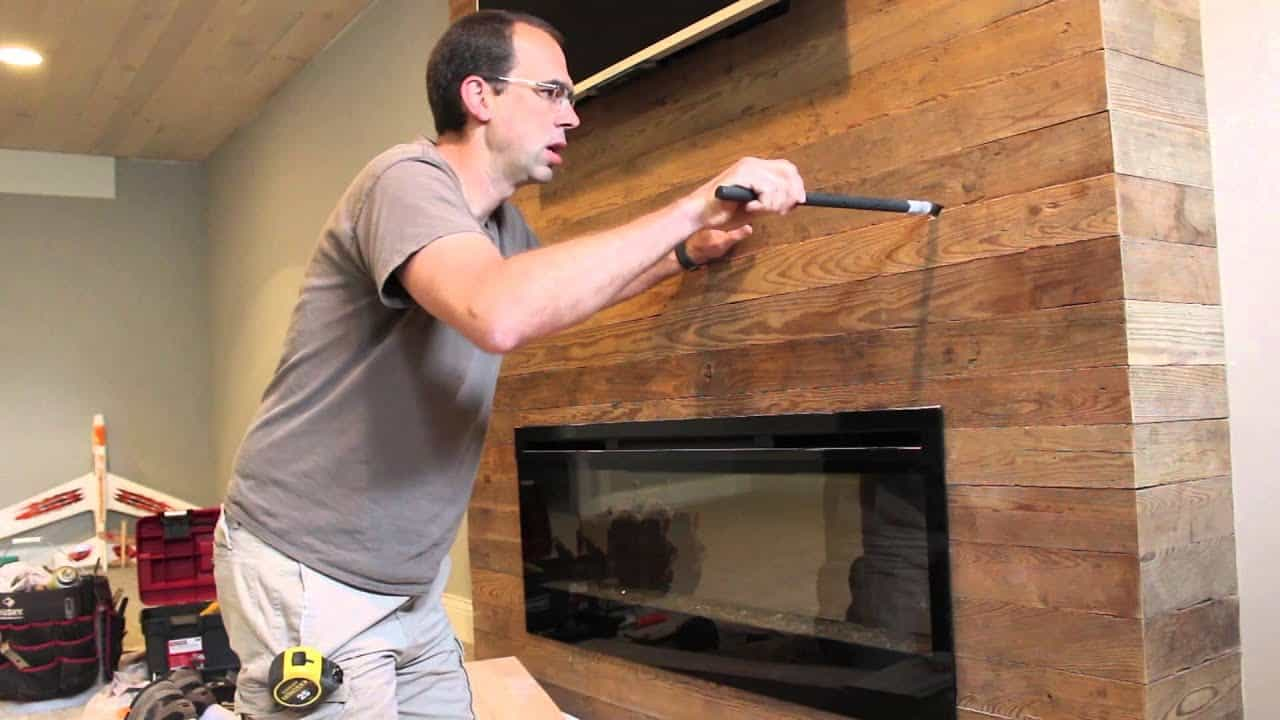 How To Install A Fireplace Mantle The Housing Forum