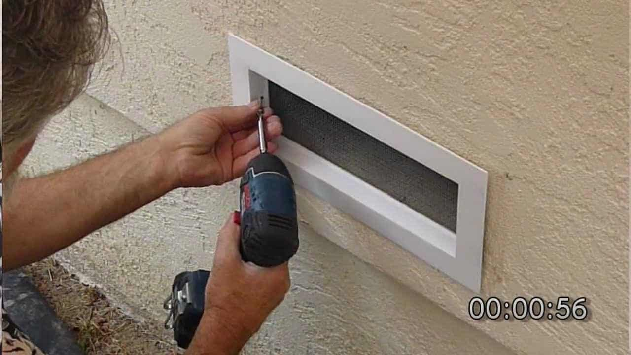 How To Install Foundation Vents The Housing Forum