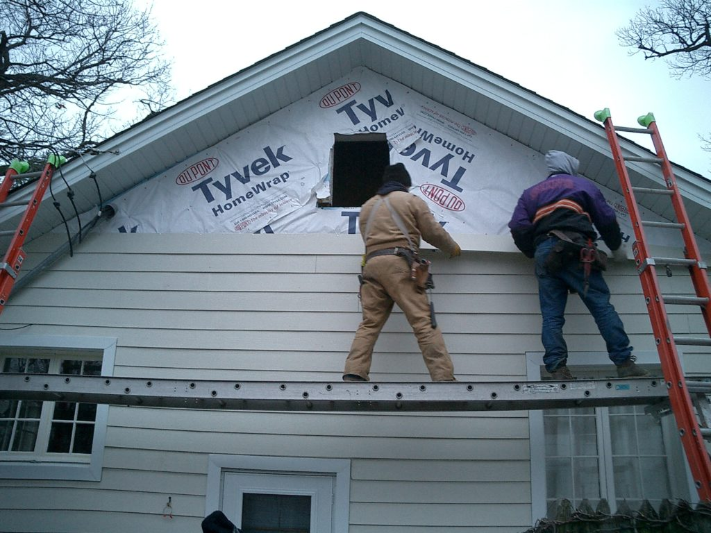 How To Install Siding On A House The Housing Forum