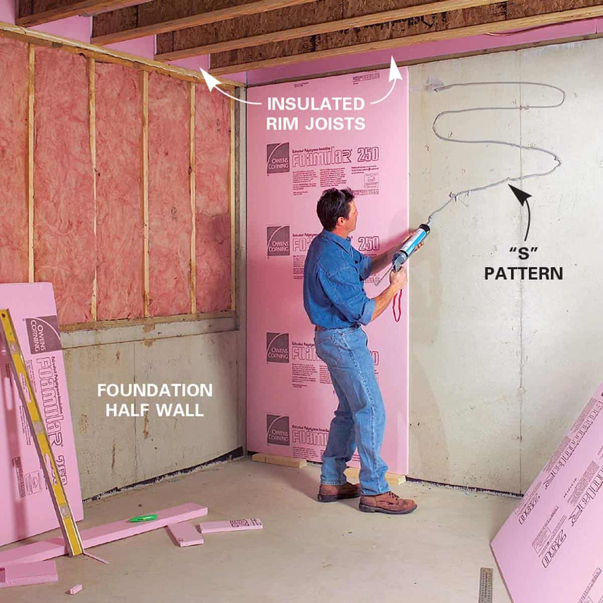 How To Insulate Basement Walls?