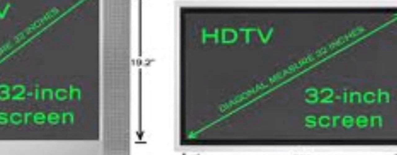 How To Measure A Flat Screen Tv The Housing Forum