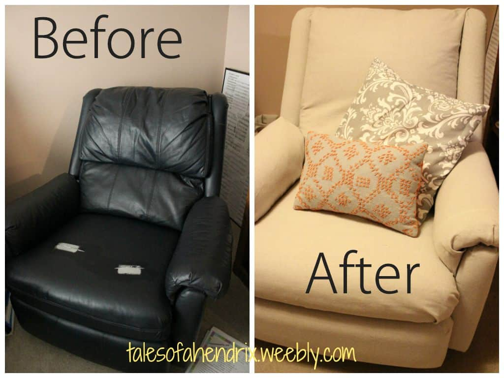 How To Reupholster A Recliner The Housing Forum