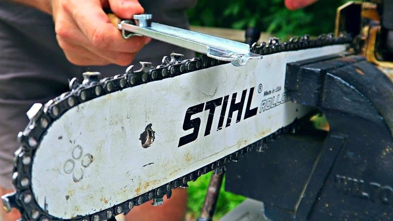 How To Sharpen A Chain Saw Blade The Housing Forum