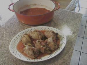 Tomato Basil Stuffed Chicken