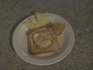 Egg Inside Toast
