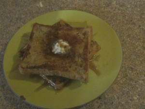 Honey Sweet French Toast with Nutmeg