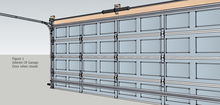 Garage Door Interior Closed