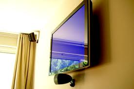 Wall Mount Flat Screen TV