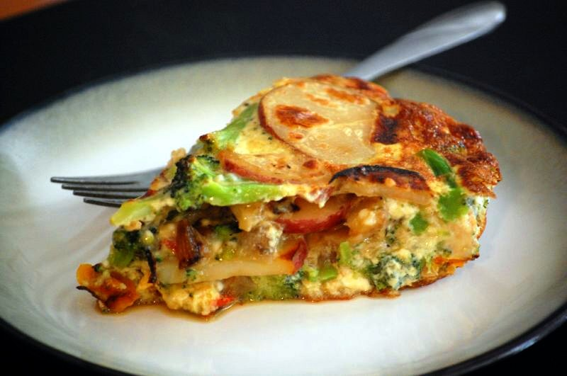 How to Make a Vegetable Frittata?